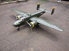 Giant 1/8 Scale b25 B-25 MITCHELL scratch build R/c Plane Plans & Patterns 118""