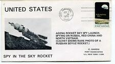 1970 Spy in the Sky Rocket Agena Russia Red China North Vietnam Sarzing USA