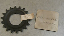 YAMAHA NOS REAR 18 TOOTH SPROCKET   MOTO BIKE J60  J60-25418-10 BMX BICYCLE