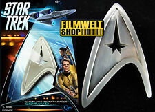 STAR TREK Movie XI + XII Captains - Uniform Pin - prop Replica - ovp