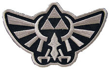 Legend of zelda-Argent-Hyrule 's royal crest-uniform patch écusson-NEUF