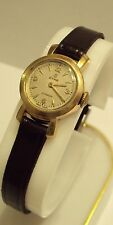 VINTAGE*CYMA-CYMAFLEX*17 JEWELS,SWISS, LADIES WATCH,GOLD PLATED WORKS # 830