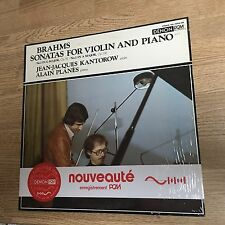 LP Japon Brahms Sonatas for Violin and Piano Jean-Jacques KANTOROW Alain PLANES