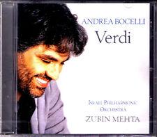Andrea BOCELLI: VERDI Il Trovatore Rigoretto Aida La Traviata Ernani Zubin MHTA