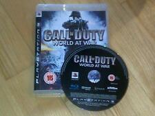Call of Duty 5 World at War PS3 con el modo Zombie