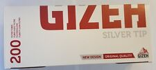GIZEH 200 FILTER CIGARETTE  TUBES FOR FILLING brand new