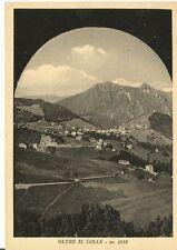 160664 BERGAMO OLTRE IL COLLE - VAL SERINA Cartolina FOTOGRAFICA viaggiata