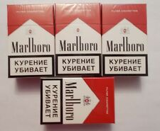 4 Pcs Marlboro Red 20 Filter Cigarettes collection  .