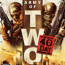 ARMY OF TWO: THE 40TH DAY Microsoft XBox 360 Game - Complete!