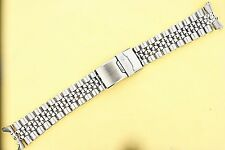 SEIKO JUBILEE BRACELET 22mm 6309, 7002, 7S26, 7548 DIVE WATCH SOLID LINKS NR116