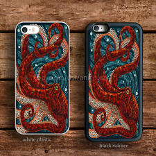 Cute Mosaic Octopus Art iPhone 6s case 5s 5c SE 4s iPod HTC LG Samsung Cases