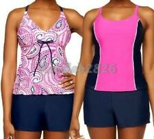 Ocean Dream Signature 3 Piece Tankini Set with Swim Shorts SIZE 8