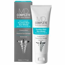 MD Complete Youthful Skin Sun Shield Broad Spectrum 50 SPF Sunscreen 1.7oz 50ml