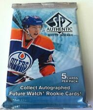 2011-12 Upper Deck SP Authentic Hockey HOBBY Box Rookie Jersey Patch Auto?