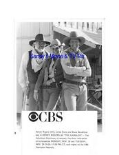 LINDA EVANS, BRUCE BOXLEITNER, KENNY ROGERS Terrific ORIGINAL TV Photo GAMBLER..