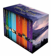 Harry POTTER Box Set: COMPLETA 7 LIBRI Collection by J. K. Rowling NUOVO di zecca