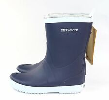 Trenton Womens Wings Rain Boot Blue & White 37 EU 5 US