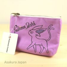 Pokemon Center Original Pokémon Sketch Tissue pouch case Espeon From Japan