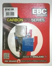 LML Star Deluxe 150 (01 to 03 DISC MODEL) EBC Carbon FRONT Brake Pads (SFAC186)