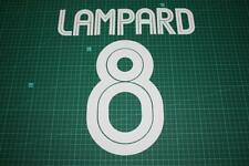 Chelsea 04/06 #8 LAMPARD UEFA Chaimpons League / Carling Cup Nameset Printing