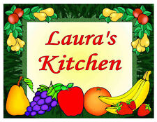 PERSONALIZED FRUIT DESIGN KITCHEN MAGNET