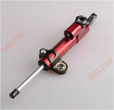RED Steering Damper Stabilizer For DUCATI MOSTER 1199 1098 848 999 749