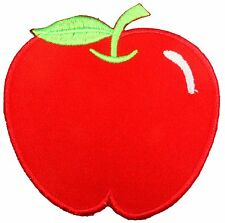 Red Apple Fruit Adam and Eve Snow White Patches Iron On Sewing Embroidered P02