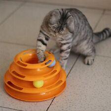 New Pet Cat Dog Amusement Plate Kitten Crazy Ball Disk Interactive Polymer Toys