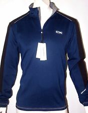 Calvin Klein men's quarter zip stretch interlock sweatshirt size xl NEWoSALE