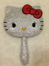 Bling Bling Deluxe Hello Kitty Crystal Makeup Hand Held Mirror! Best Gift Idea!