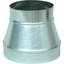 "Galvanized 5"" X 3"" 30 Ga Stove Pipe Increaser Reducer (No Crimp) GV0780"