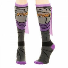 Teenage Mutant Ninja Turtles TMNT Shredder Cape Knee High Socks NWT Licensed