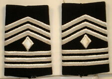 US Army ROTC 1st Sergeant Epaulet Soft Shoulder Boards Small Dress Blues