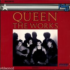 QUEEN The Works RADIO GAGA FOUR TRACK STEREO EIGHT INCH Music Video LASERDISC