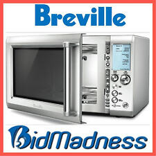 BREVILLE BMO735BSS 34L 1100W STAINLESS STEEL MICROWAVE AUTOCOOK 10 PWR LEVEL
