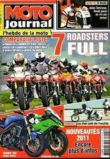 MOTO JOURNAL 1920 DUCATI 796 Monster KAWASAKI Z750 TRIUMPH 675 YAMAHA FZ8 ABS