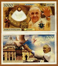 Vatican, 1000 Lire, 2016 Private Issue Kamberra, UNC   Pope Francis