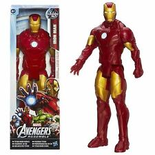 IRON MAN Avengers 12 inch Action Figure Titan Hero Series Marvel/Hasbro Licensed