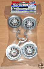 Tamiya 54400 F104 Metal-Plated Wheels (for Sponge Tires/Tyres) (F104X1/F104V.2)