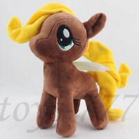 """My little Pony Brown Filly 8"""" Plush Soft Toy Stuffed Animal Horse cuddly Teddy"""