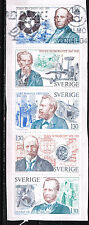 Sweden Famous People set of 5 stamps 1999
