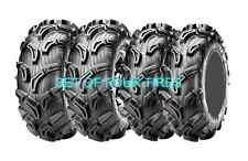 FOUR MAXXIS ZILLA 6 PLY ATV TIRES 25x8-12 & 25x10-12 OUR MOST POPULAR SIZE COMBO
