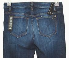 JOE'S Womens Stephanie Skinny Micro Flare Stretch Jeans Gently Faded sz 28 NEW