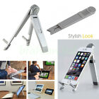 """Metal Portable Aluminium Metal Desk Stand Holder for iPad Pro all Tablets 7-12"""""""
