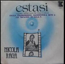 NICOLA RAGA Estasi PIER FRANCO LOGAN Vita o morte 45 sigla Rete 2 '77 jazz prog