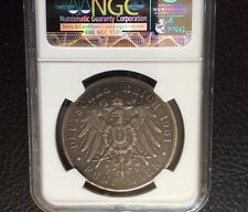 1901J 5 MARKS GERMANY 1901 SILVER COIN NGC VF GRADED