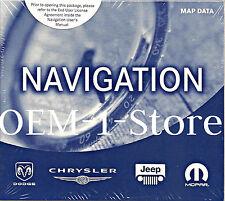 CHRYSLER DODGE JEEP MOPAR RB4 NAVIGATION NAV MAP DISC CD CDS EAST WEST COAST US