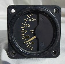Grumman S-2F Tracker ASW Carrier Aircraft Temperature Indicator Gauge Instrument