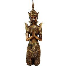 """Oriental Furniture 16"""" Thepenom Thai Angel Statue"""