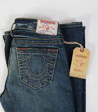 True Religion Jeans CARRIE Core Vintage Flare Leg Size 24 NEW Blue Storm Women's